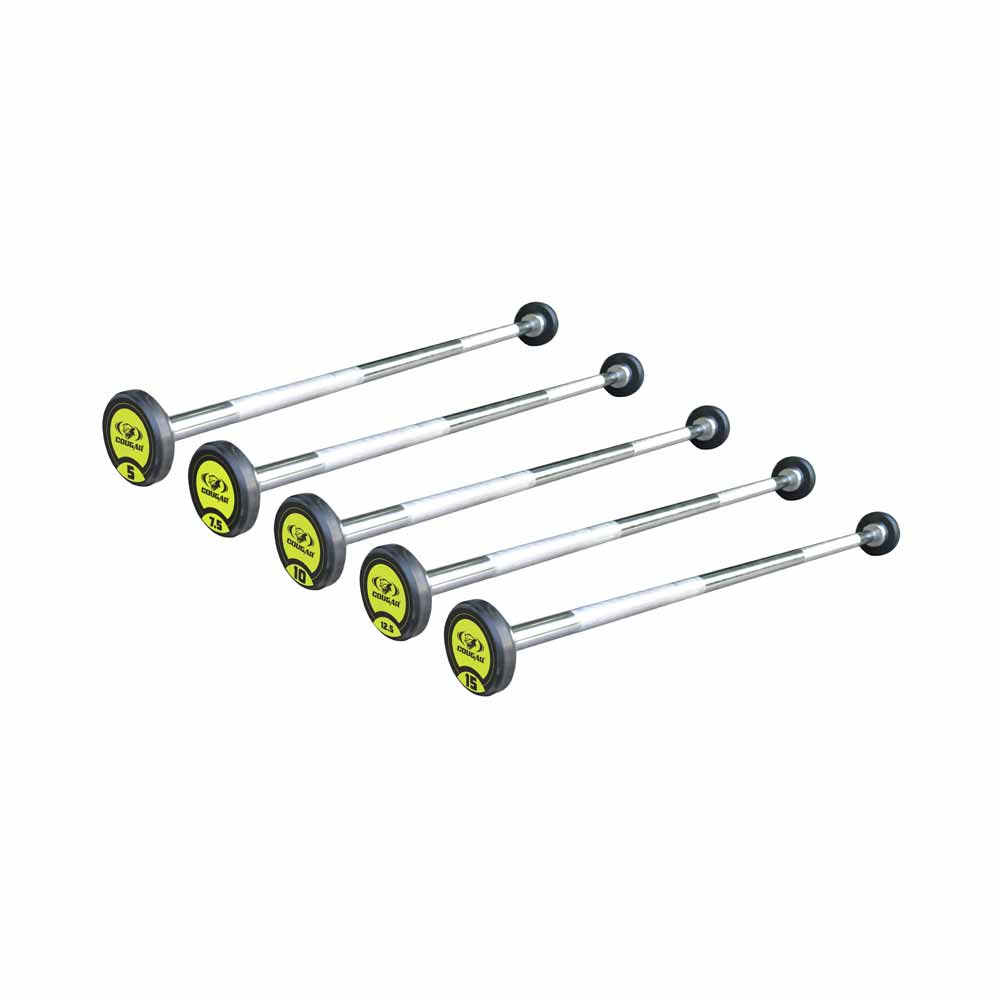 Plain Barbell With Fixed Weight'